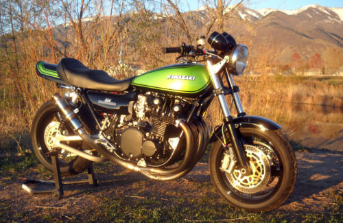 She Sells Sanctuary: 1975 Kawasaki Z1 Streetfighter for Sale