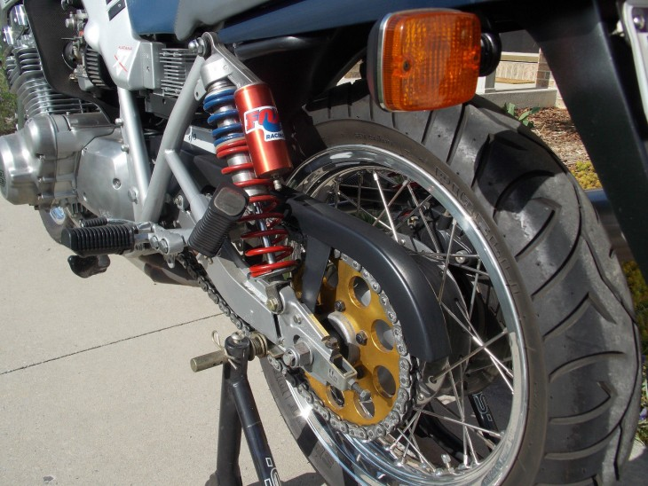 1982 Suzuki Katana Rear Suspension