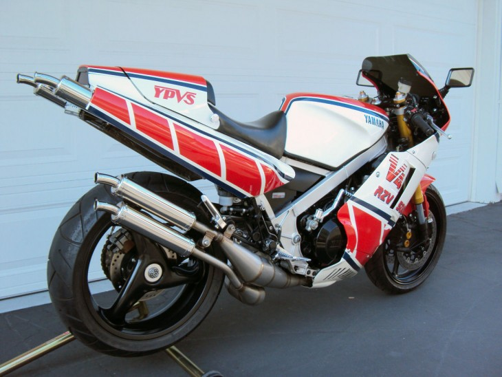 One Mean RZ: 1985 Yamaha RZV500R with California title