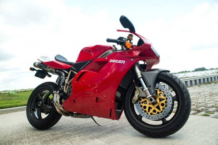 Featured Listing:  1998 Ducati 916 SPS #279