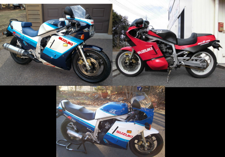 It Must Be Spring:  3 Clean 1st Edition GSXR's