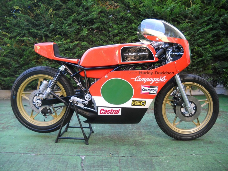 1977 Harley Davidson 250GP R Side