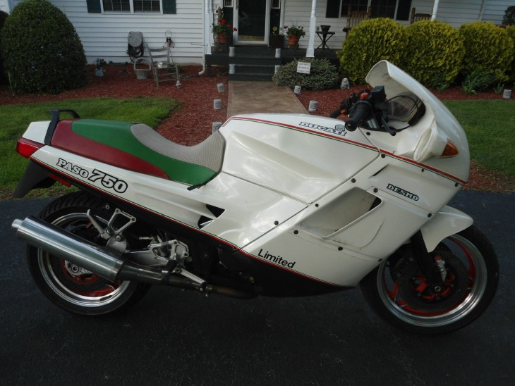 1988 Ducati Paso Limited R Side