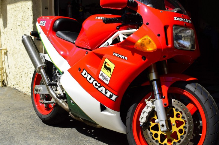 Four-Valve Founding Father: 1991 Ducati 851 for Sale