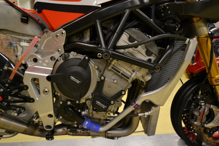 2014 Alstare Bimota BB3 Engine Detail
