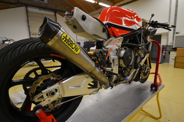 2014 Alstare Bimota BB3 R Rear