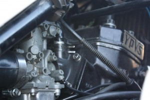 20150501 1984 yamaha rz350 rainey right engine detail
