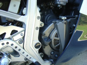 20150513 1986 suzuki gsx-r750 limited edition right engine detail