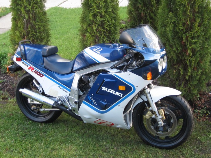 Two Owner 1987 Suzuki GSX-R 1100 in Illinois
