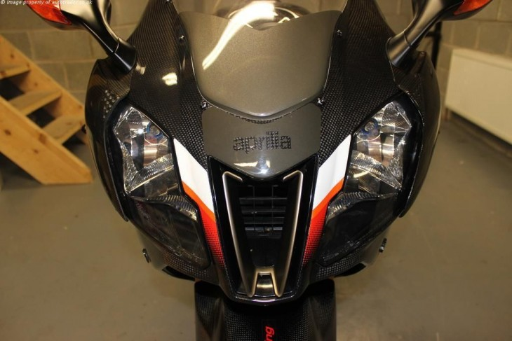 Noale Carbon Dream:  2004 Aprilia Nera in the UK