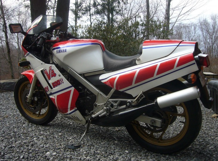 1984 Yamaha RZV500 L Side Rear
