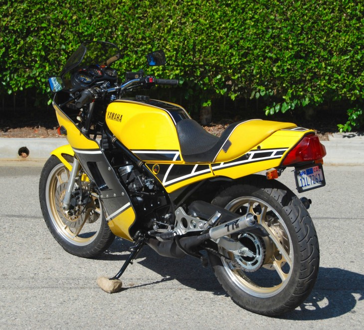 1985 Yamaha RZ350 L Rear