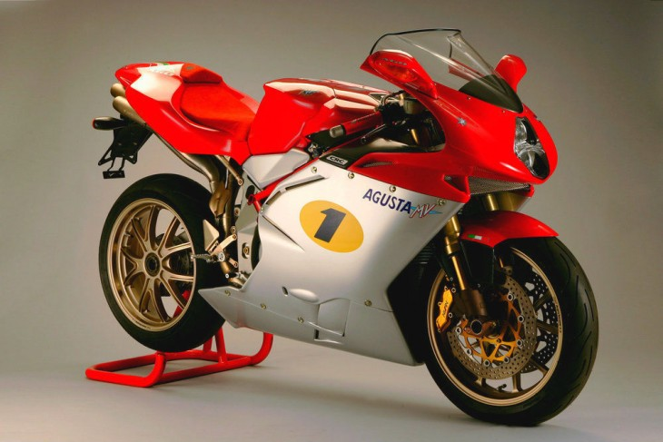 Nearly-New: 2005 MV Agusta F4 1000 AGO for Sale With 40 Miles!