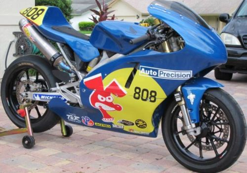 Super Single: 2008 Honda CRF-Based Race Bike
