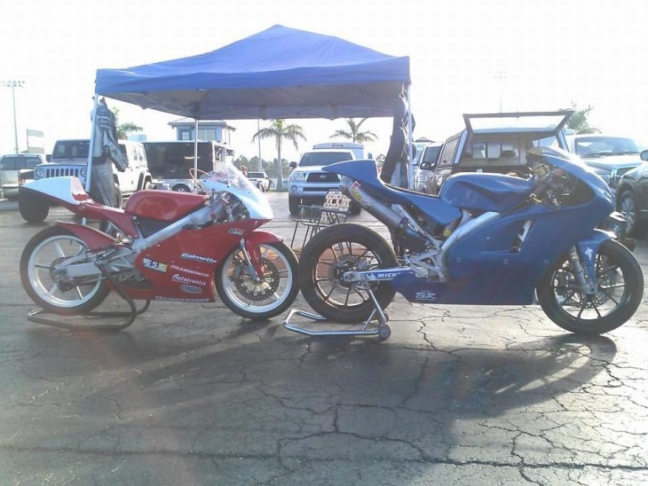 2008 Honda CRF450R Race Bike R Side