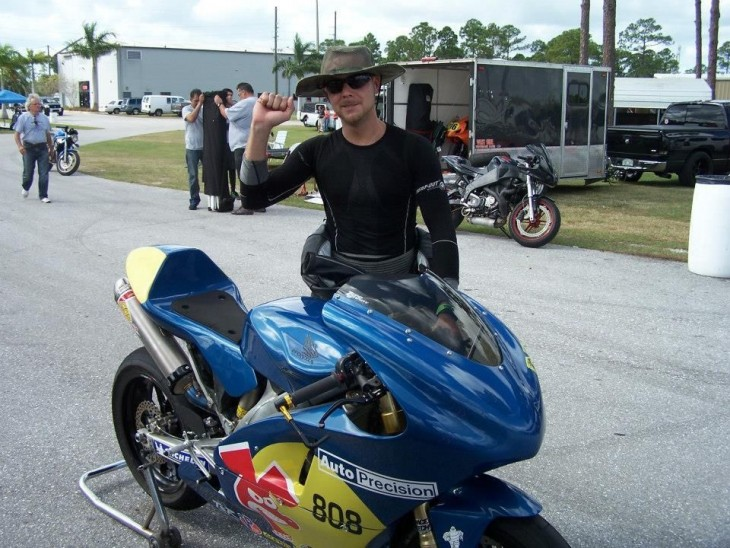 2008 Honda CRF450R Race Bike Yo