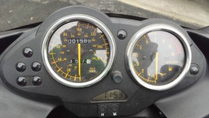 20150603 2003 bmw r1100s bcr binnacle
