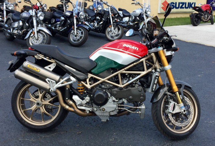 Beauty revealed – 2008 Ducati Monster S4RS Tri-Colore