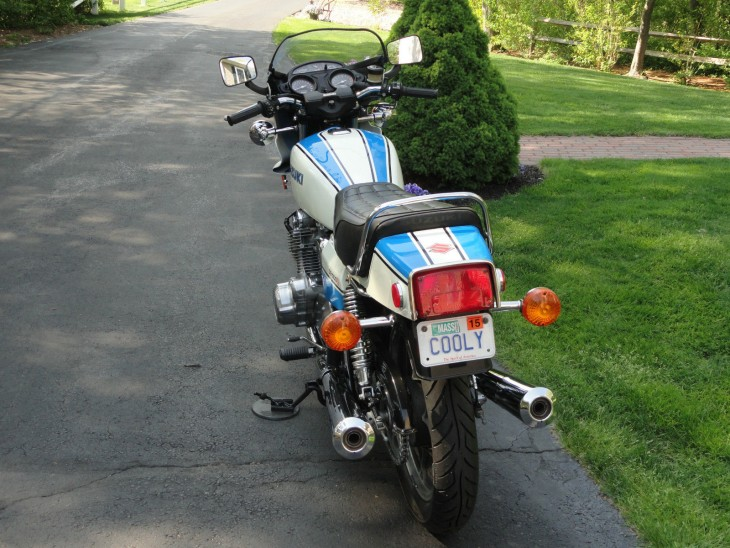 1979 Suzuki GS1000S Rear