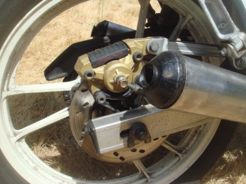 1986 Suzuki RG250 Rear Wheel