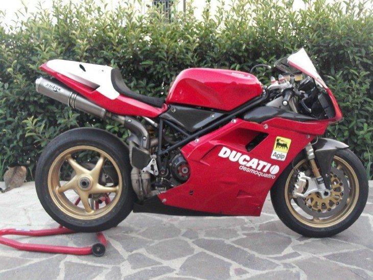 This Is Not a Road Bike: 1997 Ducati 916SPS for Sale
