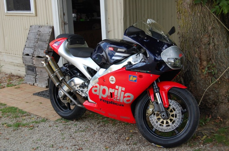 What the Doctor Ordered: 1998 Aprilia RS250 Rossi Replica for Sale