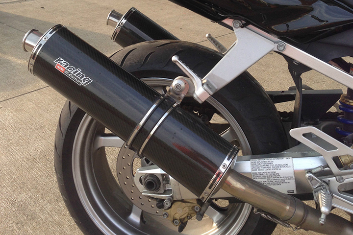 2001 Aprilia Falco R Rear Exhaust