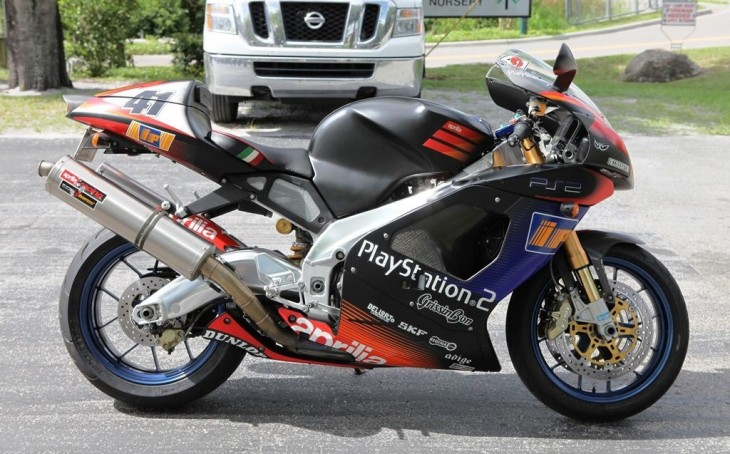 Win it or Bin it – 2003 Aprilia RSV1000 Haga Replica
