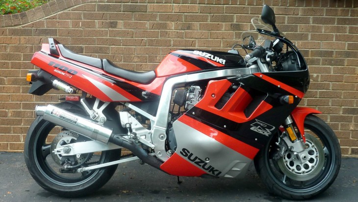 Big Shot:  1991 GSX-1100R Slingshot, only 7750 miles