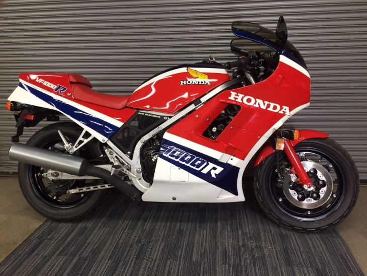 Low-Mileage Endurance-Racer: 1985 Honda VF1000R for Sale