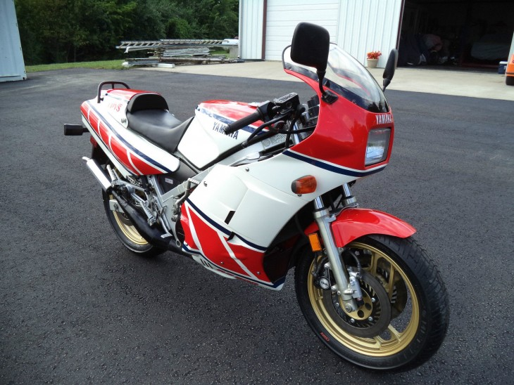 1985 Yamaha RZ500 Unrestored R Side Front