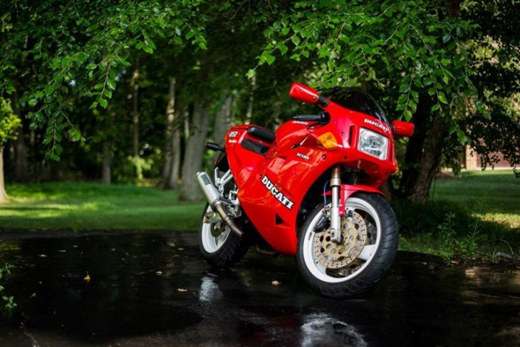 Four-Valve Genesis: Pristine 1991 Ducati 851 for Sale