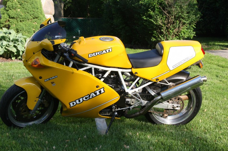 20150812 1993 Ducati 900 SS Superlight left