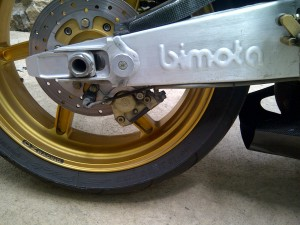 20150825 2006 bimota sb8k santamonica right rear wheel