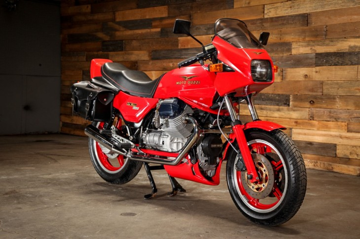 Red Survivor – 1985 Moto Guzzi Le Mans 1000 Mk. IV