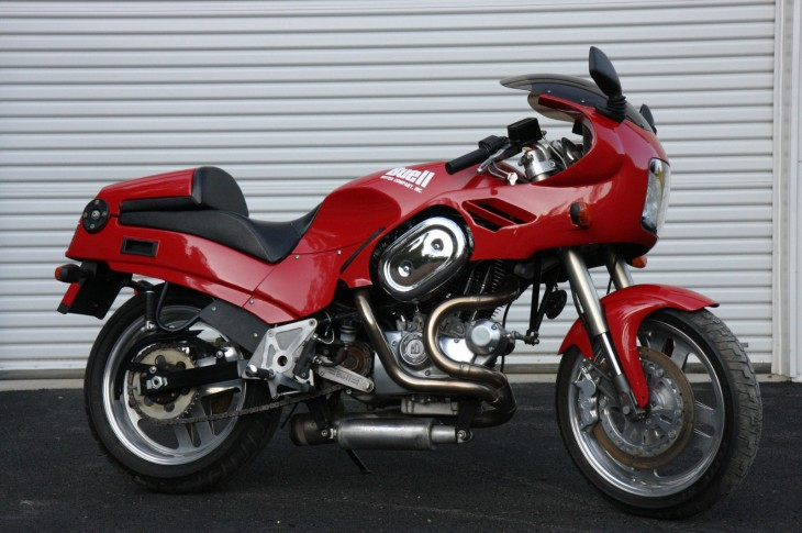1991 Buell RS1200 R Side
