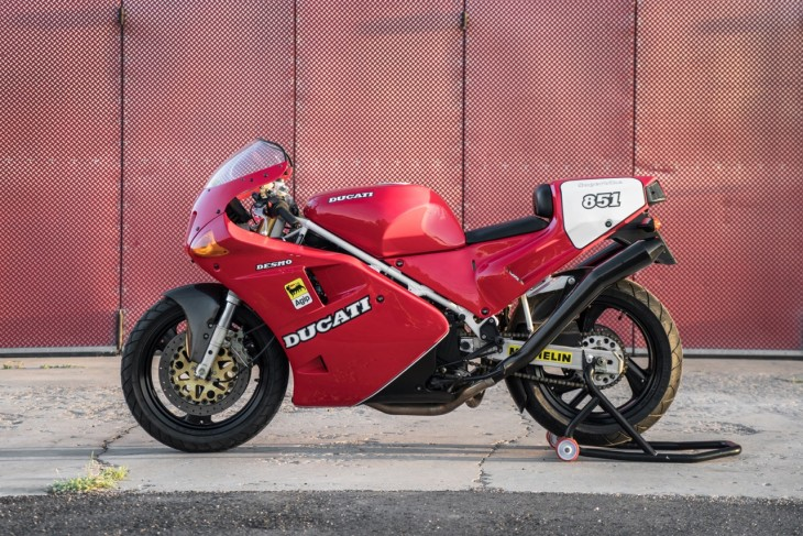 Featured Listing: 1991 Ducati 851 SP3 for Sale in the USA!