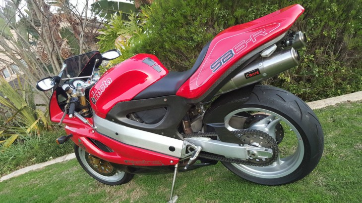 1997 Bimota SB6R L Side Rear