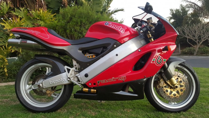 Affordable Exotic: 1997 Bimota SB6R in South Africa