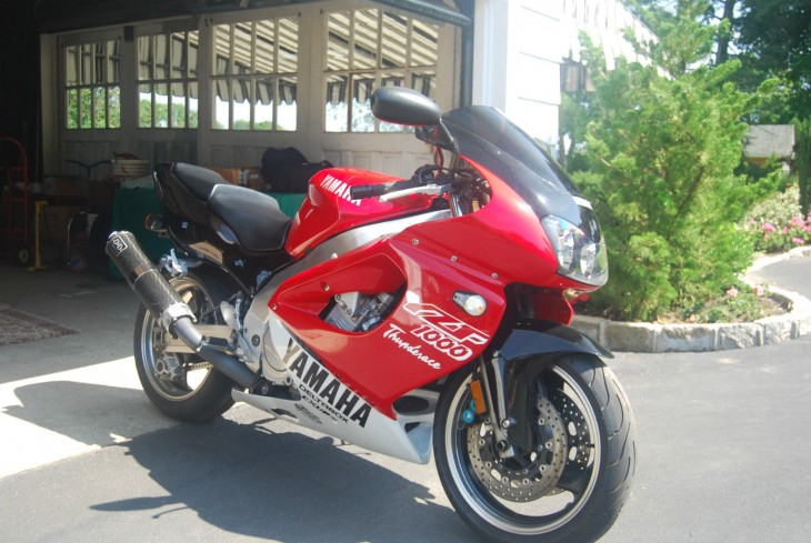 Thunder, Thunder, Thunderace! Sharp 1997 Yamaha YZF1000 for Sale