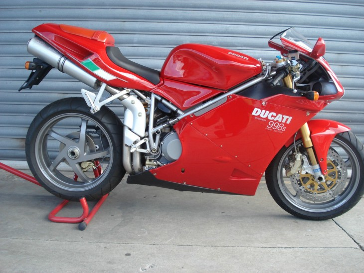New ( Zealand ) 2004 Ducati 998S Final Edition