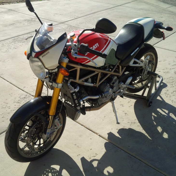 2008 Ducati Monster S4RS L Side Front