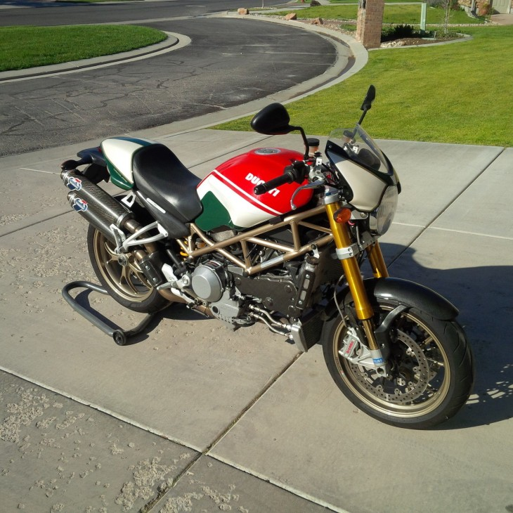 2008 Ducati Monster S4RS R Side Front
