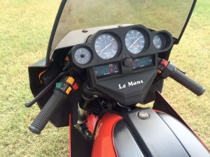 20150908 1979 moto guzzi cx100 binnacle