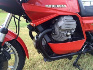 20150908 1979 moto guzzi cx100 left engine detail