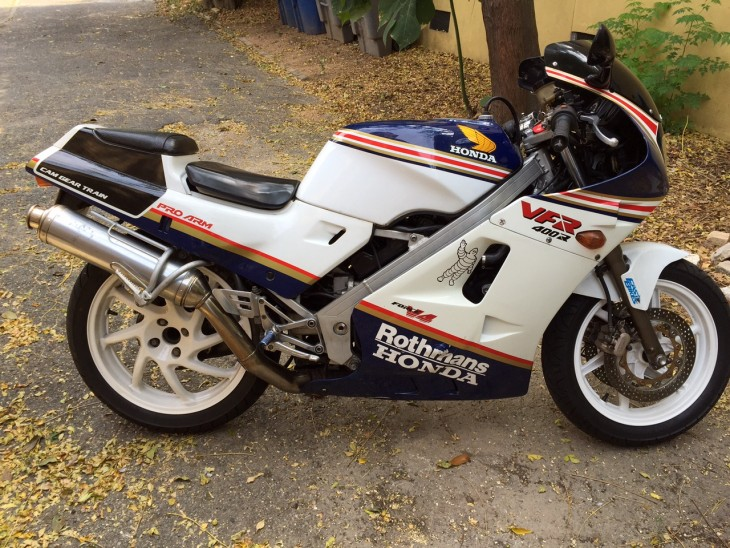 Featured Listing: 1988 Honda VFR400R for Sale