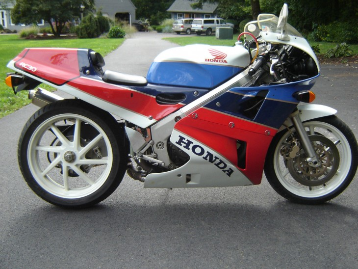 Gentlemen, start you collections:  1990 Honda RC30