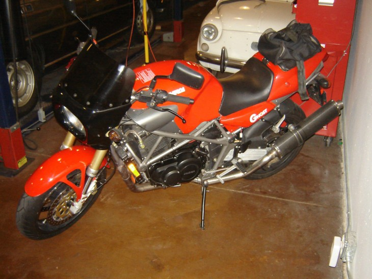 1998 Laverda Ghost L Side