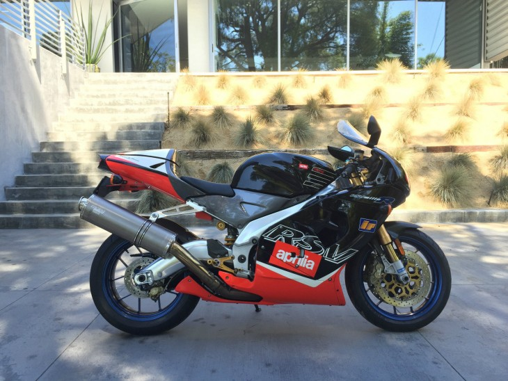 Squeaky Clean: 2000 Aprilia RSV Mille R for Sale