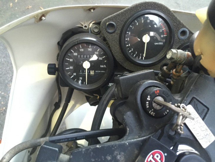1990 Honda NSR250R MC21 Gauges